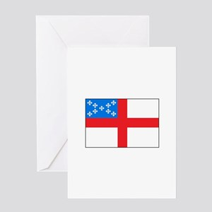Episcopal Flag Greeting Cards
