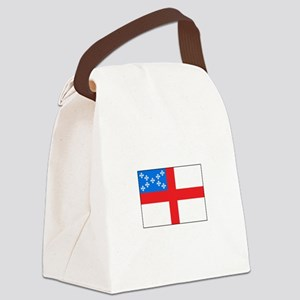 Episcopal Flag Canvas Lunch Bag