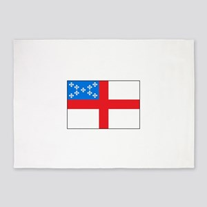 Episcopal Flag 5'x7'Area Rug
