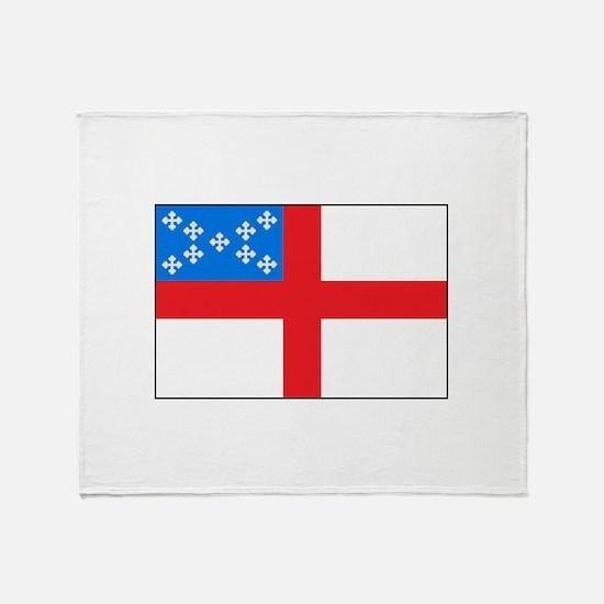 Episcopal Flag Throw Blanket