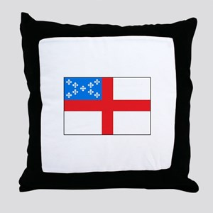 Episcopal Flag Throw Pillow