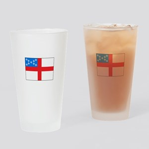Episcopal Flag Drinking Glass