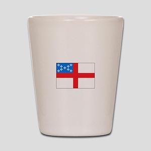 Episcopal Flag Shot Glass