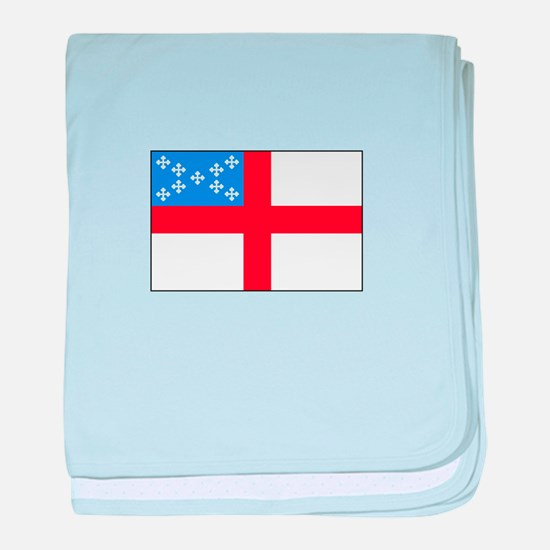 Episcopal Flag baby blanket