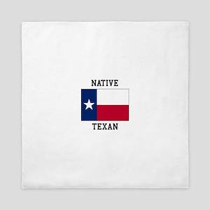 Native Texan Queen Duvet
