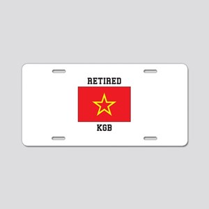 Soviet red Army Flag Aluminum License Plate