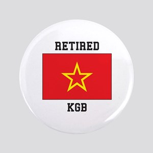 Soviet red Army Flag Button