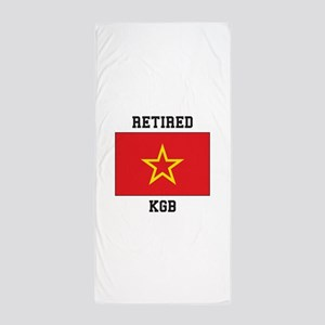 Soviet red Army Flag Beach Towel