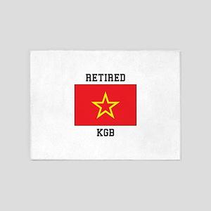 Soviet red Army Flag 5'x7'Area Rug