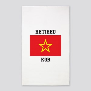Soviet red Army Flag Area Rug
