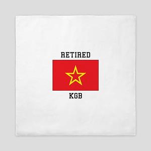 Soviet red Army Flag Queen Duvet