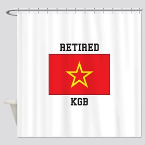 Soviet red Army Flag Shower Curtain