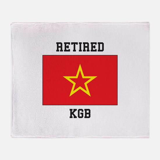 Soviet red Army Flag Throw Blanket