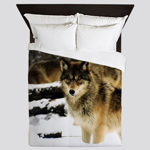 Wolves in The Snow Queen Duvet