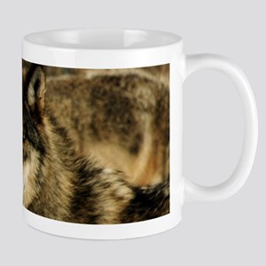 Wolves in The Snow Mugs