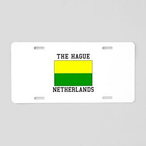 The Hague, Netherlands Aluminum License Plate