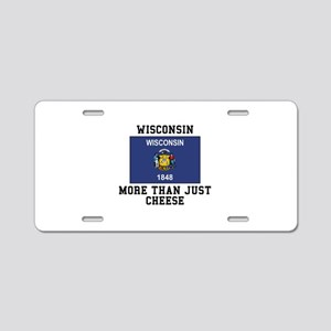 Wisconsin More Than Just Cheese Aluminum License P