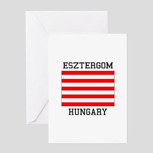 Esztergom Hungary Greeting Cards