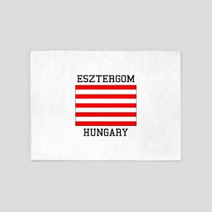 Esztergom Hungary 5'x7'Area Rug