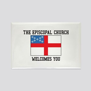 The Episcopal church welcomes you Magnets