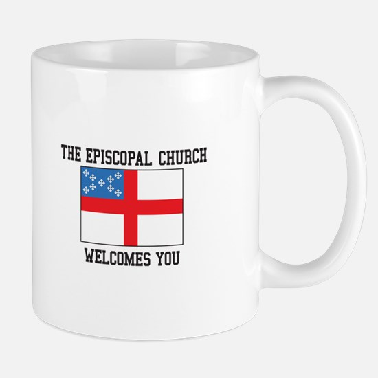 The Episcopal church welcomes you Mugs