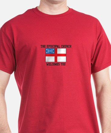 The Episcopal church welcomes you T-Shirt