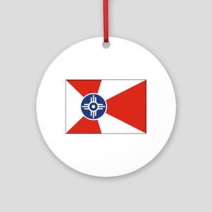 Wichita, Kansas USA Ornament (Round)