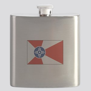 Wichita, Kansas USA Flask