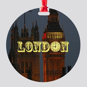 LONDON GIFT STORE Round Ornament