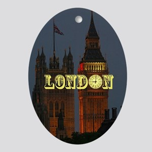 LONDON GIFT STORE Ornament (Oval)