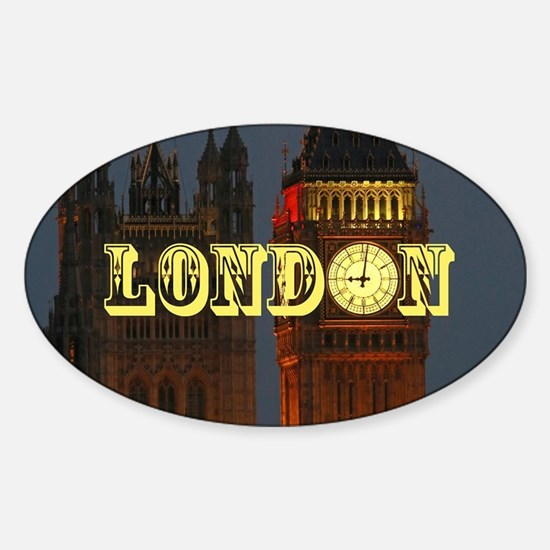 LONDON GIFT STORE Sticker (Oval)