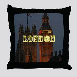 LONDON GIFT STORE Throw Pillow