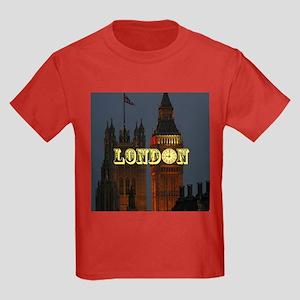 LONDON GIFT STORE Kids Dark T-Shirt