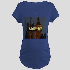 LONDON GIFT STORE Maternity Dark T-Shirt