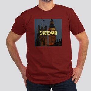 LONDON GIFT STORE Men's Fitted T-Shirt (dark)