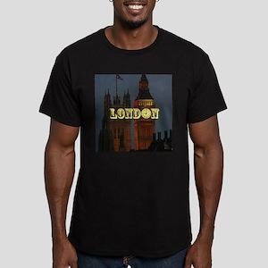 LONDON GIFT STORE Men's Fitted T-Shirt (dark)
