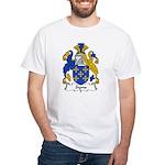 Syms Family Crest White T-Shirt