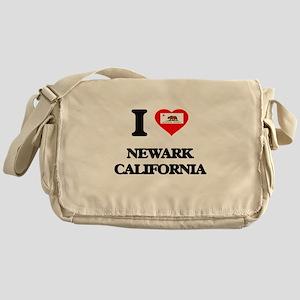 I love Newark California Messenger Bag