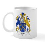 Syms Family Crest  Mug