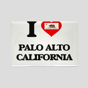 I love Palo Alto California Magnets