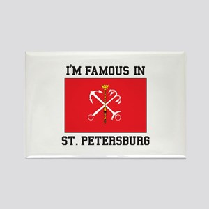 St. Petersburg Flag Magnets
