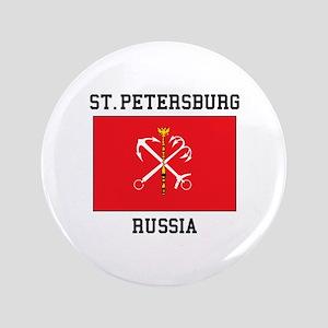 St. Petersburg Flag Button