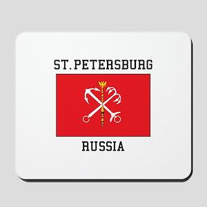 St. Petersburg Flag Mousepad