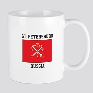 St. Petersburg Flag Mugs