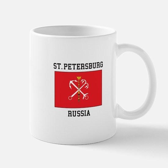 St. Petersburg Flag Mugs