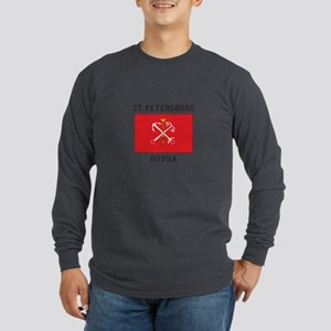 St. Petersburg Flag Long Sleeve T-Shirt