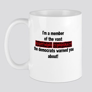 RIGHT-WING CONSPIRACY Mug