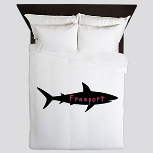 Freeport Bahamas Shark Queen Duvet