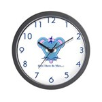 Here There Be Mice...c Wall Clock