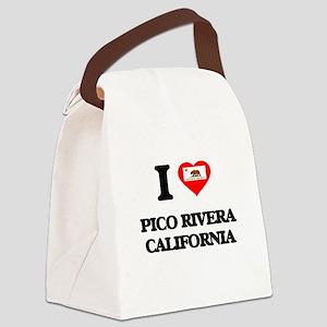 I love Pico Rivera California Canvas Lunch Bag